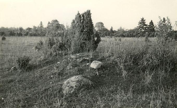 Kivikalmed (reg nr 12736-12749). Foto: E. Väljal, 05.10.1982.