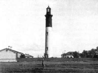 Tallinna Lõuna tuletorn ehk nn. Punane majakas, 1896 .a (arhiivifoto)