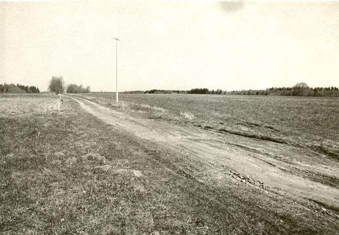 Asulakoht. Foto: O. Kõll, 14.05.1980.