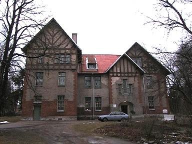 Seewaldi vaimuhaigla ravikorpus Paldiski mnt. 52/4, 1909. a.