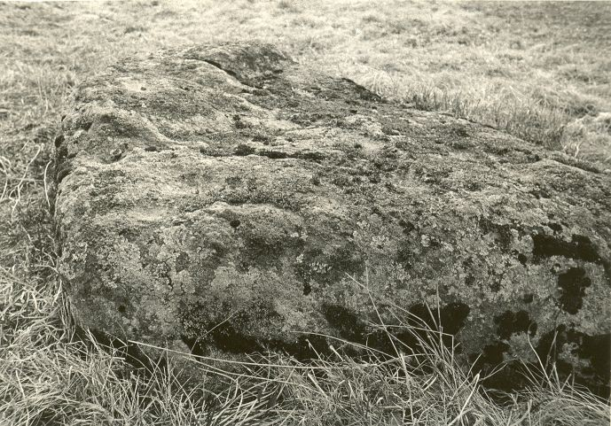 Kultusekivi. Foto: O. Kõll, 29.04.1980.