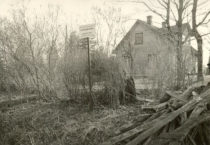 Ohverdamiskoht. Foto: O. Kõll, 29.04.1980.