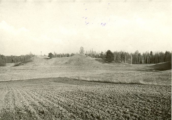 Linnamägi. Foto: O. Kõll, 28.04.1980.