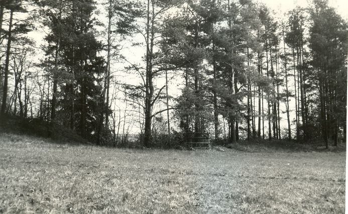 Maa-alune kalmistu - edelast. Foto: E. Väljal, 10.05.1991.