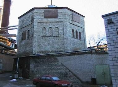 Tallinna Gaasijaama gaasimahuti Põhja pst. 27, 1926. a.