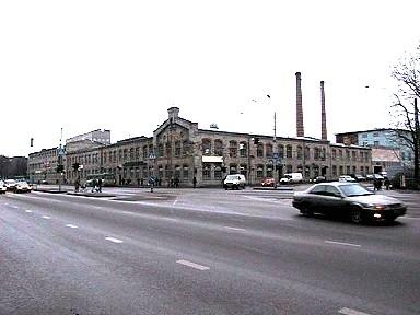 A/s A.M.Luther Vineeri- ja Mööblivabriku tööstushooned, 1897-1919