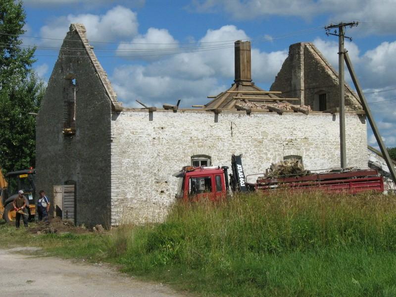 Lasila mõisa kuivati, reg. nr 15766. Foto: Ingmar Noorlaid 21.07.2010