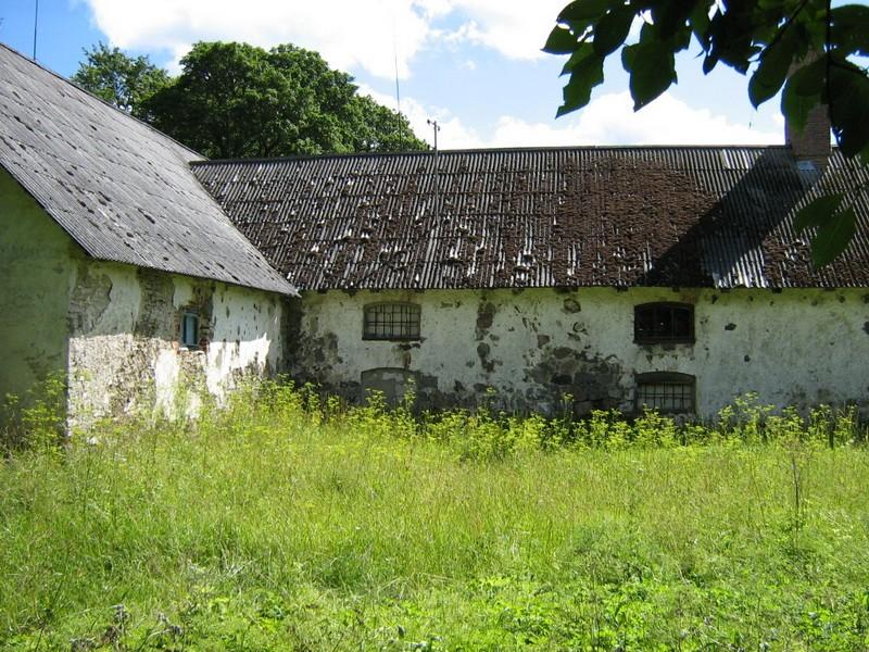 Saksi mõisa ait-kuivati reg. nr 15975. 21.07.2010 Foto: Ingmar Noorlaid