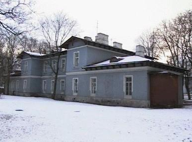Priihospidali vaimuhaigete osakonna põhjapoolne hoone, 1897. a.