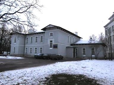 Priihospidali vaimuhaigete osakonna lõunapoolne hoone, 1897. a.