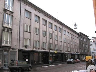Elu ja ärihoone Roosikrantsi t. 8, 8A, 1939. a.