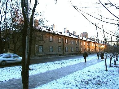 Balti Puuvillavabriku tööliselamu Sitsi t. 9, 1901-1905