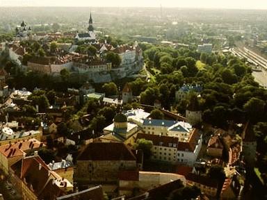 Tallinna tsistertslaste Mihkli kloostri ehitised koolihoonega, 13.-20. saj.