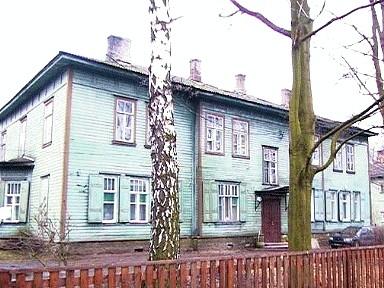 Vene-Balti laevatehase nooremteenistujate elamu Süsta t. 7, 1914. a.