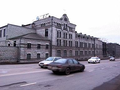 Riigi viinavabriku peahoone Tartu mnt. 76, 1900. a.