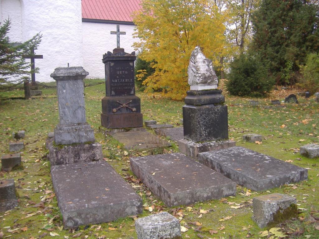 Vaade Otto von Kotzebue hauatähisele  2009.