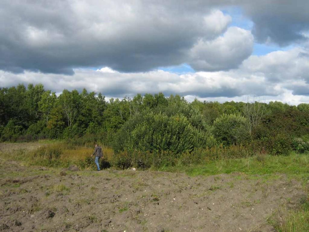 Ohverdamiskoht. Foto: M. Koppel, august 2010.