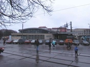 Tallinna Balti jaama lähirongide paviljon, 1962. a.
