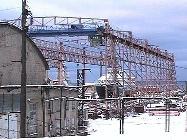 Noblessneri laevatehase elling , 1914-1915 (2 tugiraami 6 rööbasteega, liikuv sild, slipp alusraamiga, slipi muulid, masinaruum ajami ja ülekandemehha