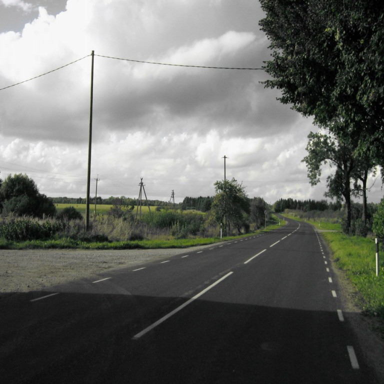 Vaade kagu poolt teest läände. Foto: Kalli Pets, 15.09.2010.