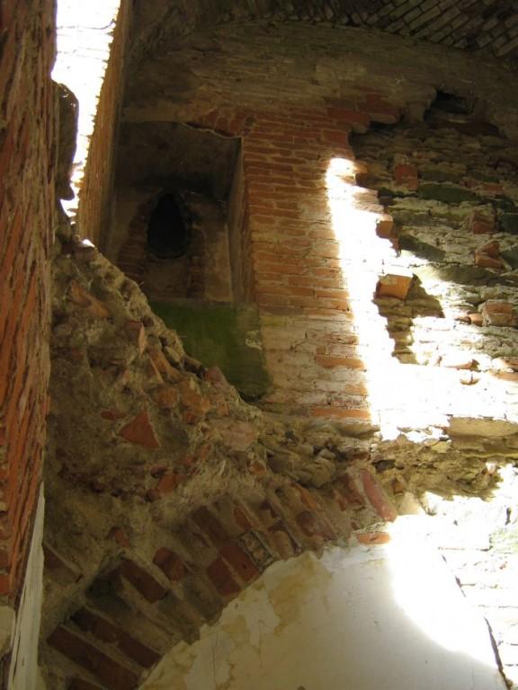 Lehtse mõisa peahoone torn seest Foto: V.Vissel 24.09.2010