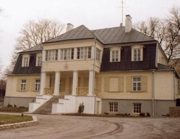 Maja, kus 1922-1940 elas Johan Laidoner
