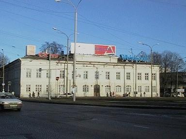 Hoone, kus 1872-1917 asus Tallinna Aleksandri Gümnaasium
