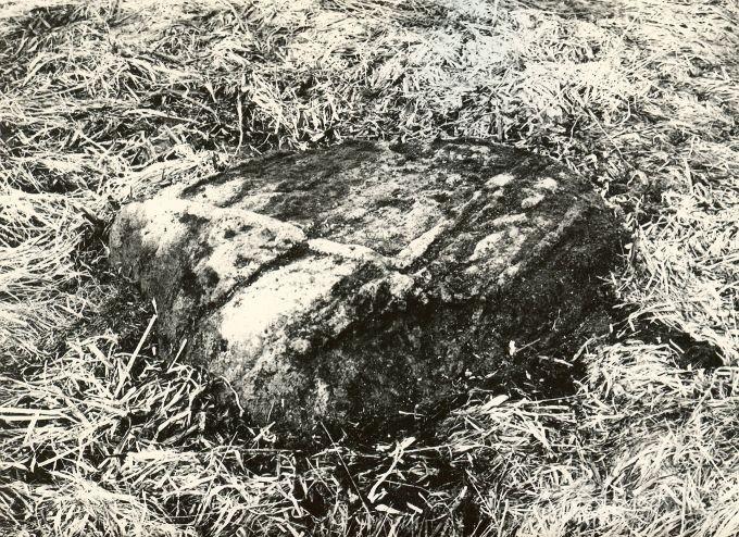 Ohvrikivi. Foto: M. Pakler, 1979.