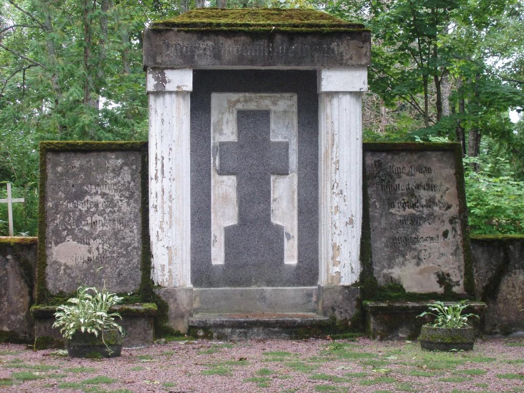 Vabadussõjas invaliidistunute matmispaik  Autor I. Raudvassar  Kuupäev  16.08.2005