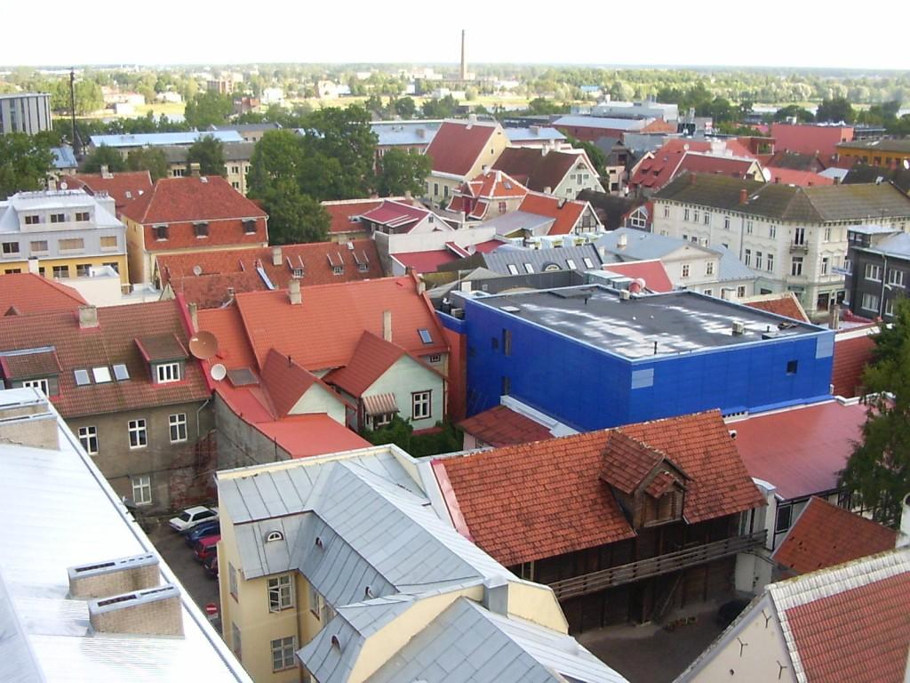 Vaade Eliisabeti kiriku tornist Rüütli tn suunas  Autor Tarvi Sits  Kuupäev  29.08.2005