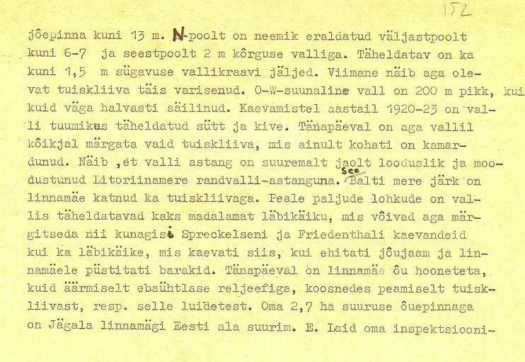 PASS 1972. T. Moora. Leht 1-p