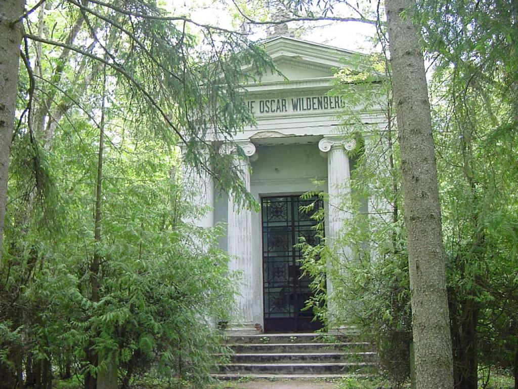 Wildenberg kabel, Kudjape kalmistu. Foto: Jaan Vali 31.05.2001
