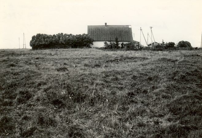 E. Väljal, 1980. aastad. Vaade kivikalmele idast