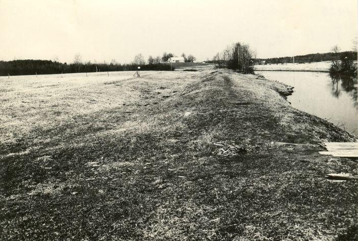 Asulakoht - kirdest. Foto: M. Pakler, 05.05.1981.