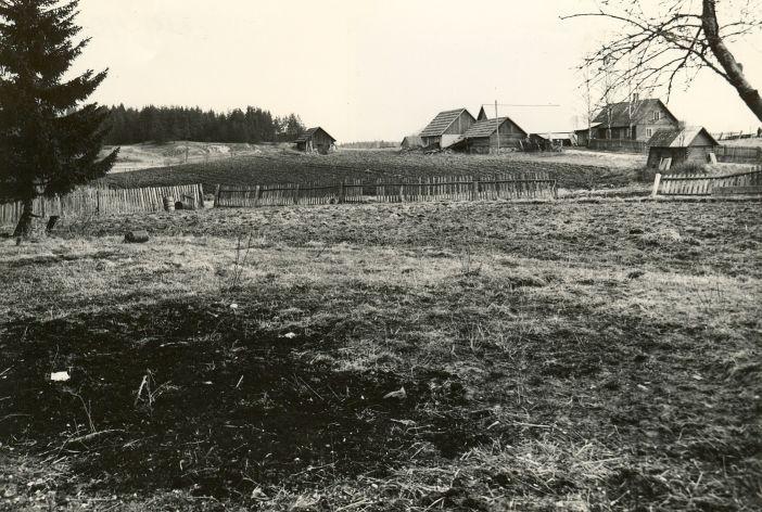 Maa-alune kalmistu - edelast. Foto: M. Pakler, 05.05.1981.