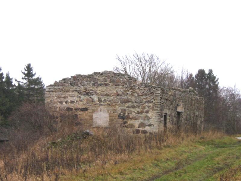 Malla mõisa kuivati : 16024, vaade läänest  Autor ANNE KALDAM  Kuupäev  09.11.2010