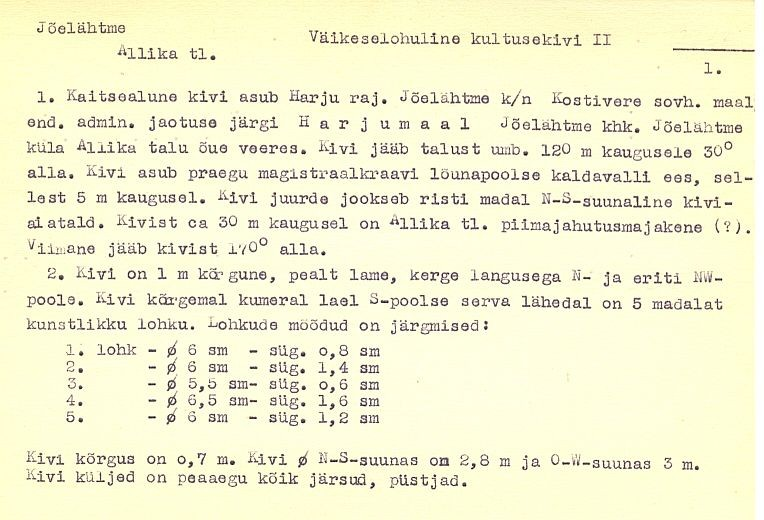 PASS 1977. V. Lõugas. Leht A-1