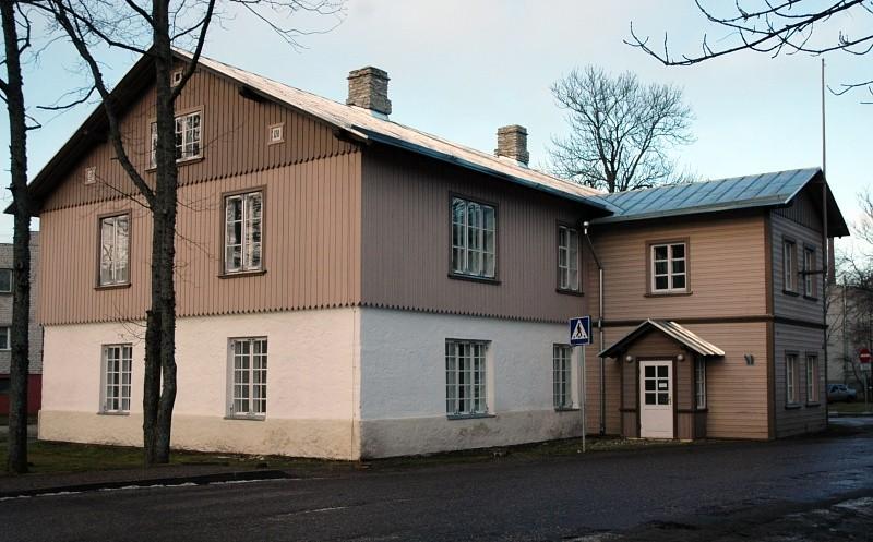Vana koolimaja  Autor Tõnis Padu  Kuupäev  14.01.2006