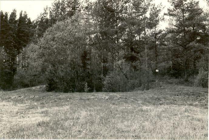 Maa-alune kalmistu - kagust. Foto: M. Pakler, 14.05.1987.