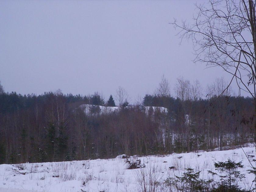 Vaade Kukulinna poolt tulles. Foto: Arnold Unt, 18.02.2006.