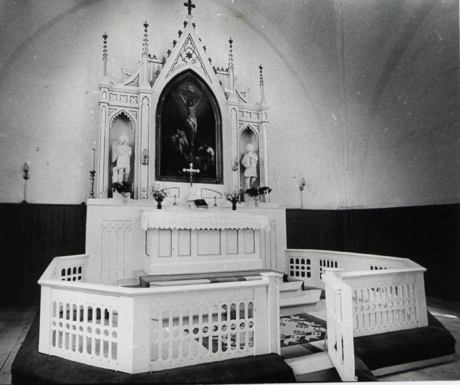 Altarisein ja -võre 19485  Autor M. Hiis  Kuupäev  11.06.1981