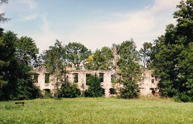 Vaade varemetele teelt  Autor Kalli Pets  Kuupäev  23.08.2004