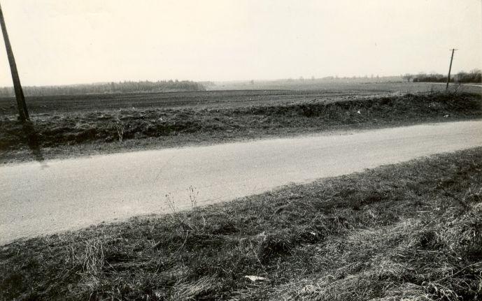 Maa-alune kalmistu - põhjast. Foto: M. Pakler, 14.05.1987.