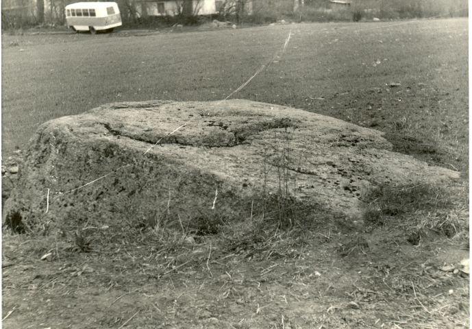 Kultusekivi - edelast. Foto: H. Joonuks, 1970ndad.