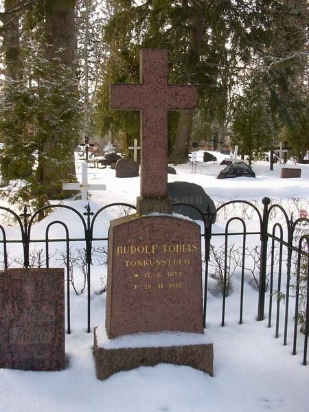 R.Tobiase hauatähis  Autor Kalli Pets  Kuupäev  23.03.2006