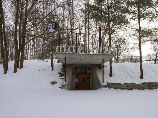 Peahoone kelder, sissepääs  Autor Kalli Pets  Kuupäev  23.03.2006