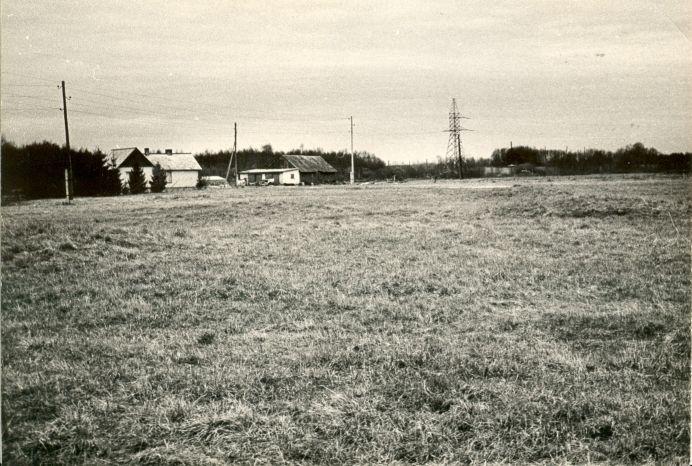 Vaade idast. Foto: E. Väljal, 1987.