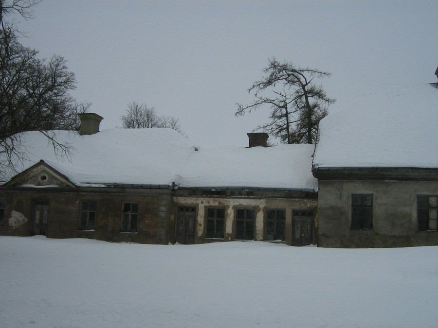 Katus lumekoorma all Kalli Pets 05.02.2011