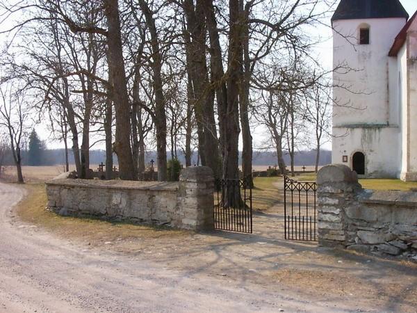 Kirikuaia värav  Autor Kalli Pets  Kuupäev  26.04.2006