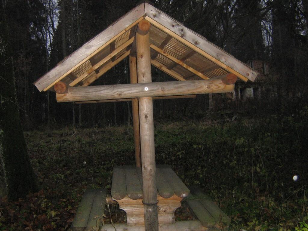 Istumispaiga taga laiub park. Viktor Lõhmus 02.11.2010